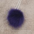 Fabrik Großhandel kundengebundene Größe und Farbe Nerz Pelz Pom Pom Ball