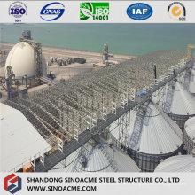 Estructura de Acero Truss Planta Industrial con Galería