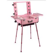 Pink Light Kosmetik Fall Make-up Station mit Lichter