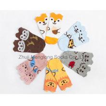 Calcetines de algodón de diseño 3D de los animales