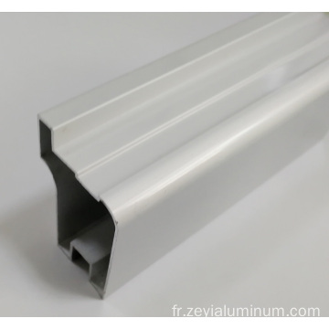 Types de profil en aluminium de surface pour portes Windows