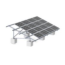 Montaje solar de aluminio de 10MW Ground Solar Farm
