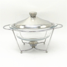 Chinses Supplier Cheap Stainless Steel Buffet Glass Food Warmer
