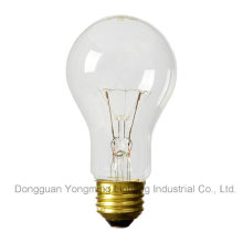 A19 E26/E27 Clear Incandescent Bulb with CE Approval