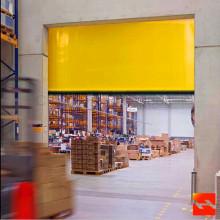 Porta rápida do obturador de rolamento da tela do PVC