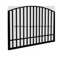 Puerta galvanizada sumergida caliente del hierro de la puerta al aire libre de la aduana para el jardín