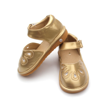 Оптовые продажи Hard Sole Musical Baby Squeaky Shoes