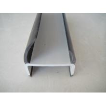 Tira dura do selo do PVC da porta do recipiente da forma de H