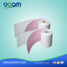 Thermal paper roll and dot-matrix paper and ribbon for label printers