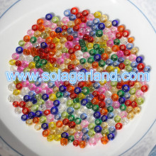 Wholesale 2/3/4 MM Glass Lined Clear Seed Beads With Silver