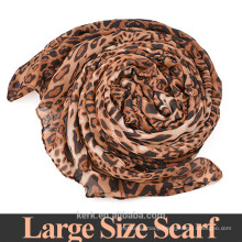 A867 75*180cm Fashionistas must!New 2015 Fashion style brand Leopard Summer woman Scarf ,100% voile long Shawl Scarves
