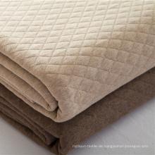 Weiche Bettdecke aus 100% Baumwolle Beste personalisierte Decken