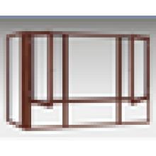 Heißer Verkauf / konkurrenzfähiger Preis / Qualität / beste hölzerne Schaukelfenster