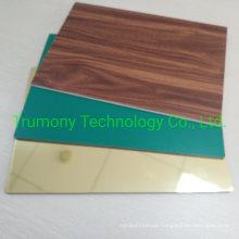 Digital Printing Printable Polyester Wood Stone Granite Grain Spectra Non Combustible Anti Fire Proof Resistant Retardant Fr Core A2 B1 ACP Aluminum Panels
