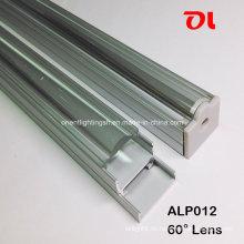 LED-Aluminiumprofil mit 60-Grad-Abstrahlwinkel (ALP012)