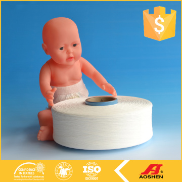 hygienic spandex yarn for baby diapers