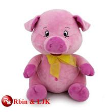 ICTI Audited Factory High Quality Custom promotional custom stuffed plush pig animal toys
