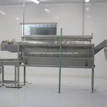 Máquina de procesamiento de aves de corral de desagüe separador de agua