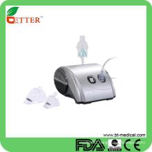 Portable hand held nebulizer compressor
