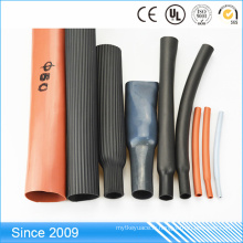 Soutenez la tuyauterie en caoutchouc de rétrécissement de la chaleur de caoutchouc de silicone de petit diamètre d'isolation 600v