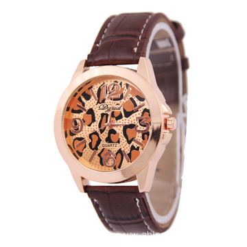 2016 Hot Sale Luxury Women Leather Quartz Watch