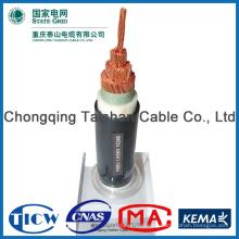 Cable eléctrico flexible al por mayor de la electrica plana de la fuente de alimentación