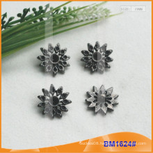 Zinc Alloy Button&Metal Rhinestone Button&Metal Sewing Button BM1624