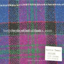 Winter Männer und Frauen Harris Tweed Jacke und Mäntel Windbreaker Wear Model