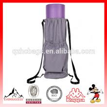 Saco de cordão de esteira de ioga Saco de transporte de esteira de exercício