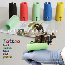 stainless steel Silicon tattoo grip cover