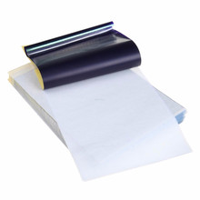 "Nuevo 100 hojas de tatuaje de carbono térmico Stencil Body Transfer Paper 8.5 ""x 11"""