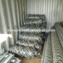 Export nach Singapur Drahtseil Netting Fabrik hochwertige Hang Protection System Netting