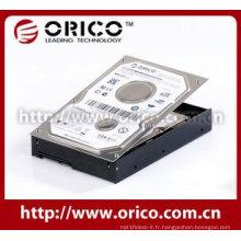 Boîtier de disque dur interne de 2,5 po avec matériau en aluminium