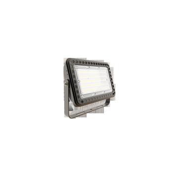Manufacturer Supplier Led Garden Flood Light Spot Projector Lamp Green Luminous White Body Glass Power Lighting Tempered Color