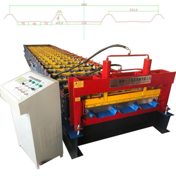 Panel Bumbung Logam Automatik Roll Forming Machine