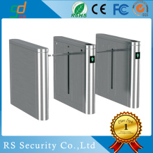 Tahan air 316 Stainless Steel Drop Arm Turnstile