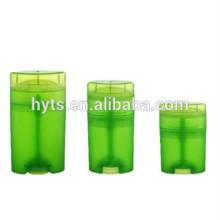 15ml 40ml 50ml Ovale Form hochwertiger Twist Deo Behälter