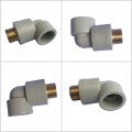 High Temperature Resistance Non-toxic Plastic Pipe Fittings Ppr Male Elbow Ppr Pipe Fitting