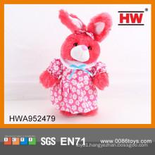 Funny stuffed plush electronic rabbit toy dancing rabbit with music 30CM