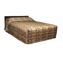 microfiber solid color quilted 100% polyester bedspread
