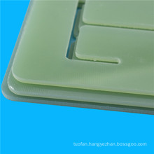 Green color fr4 cutting board for PCB