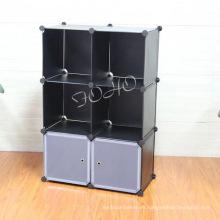 Gabinete de plástico con color negro (FH-AL0023-2)