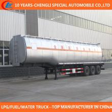 China 3 reboque do tanque de transporte do asfalto do eixo 50cbm para a venda