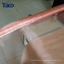 Maille décorative de fil de cuivre pour la fabrication de bijoux
