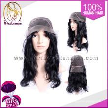 Full Bangs Natural Silver Afro Silk Top Glueless Low Density Wig
