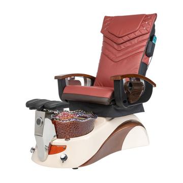 Chaise et bassin de pédicure