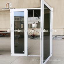 Подгонянное двойное остекление полностью закаленное отражающее стекло серого цвета тонированные алюминиевые окна