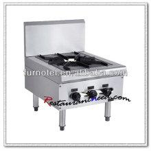 K227 With Backsplash 1 Burner Gas Hob Burner