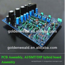 Assemblage de l'amplificateur audio pcb Prototype pcba service pour le panneau de contrôleur de trafic