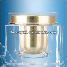 Квадратные акриловые косметические баночки для крема 200мл